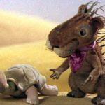Крем-брюле, мультфильм (1984) про черепауху дикобраза и тушканчика онлайн сказка
