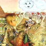 Лоскутик и Облако, мультфильм, все серии сказка по книге Софьи Прокофьевой о дружбе девочки с облаком