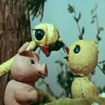 Мой брат - страусенок, мультфильм (1971) сказка кукольная