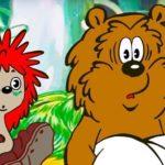 Осенние корабли, мультфильм (1982) сказки Сергея Козлова для детей смотрите про ёжика и медвежонка