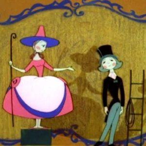 Пастушка и трубочист, мультфильм (1965) Андерсен детская сказка