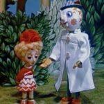 Про Ксюшу и Компьюшу, мультфильм (1989) кукольная сказочная история для ребят