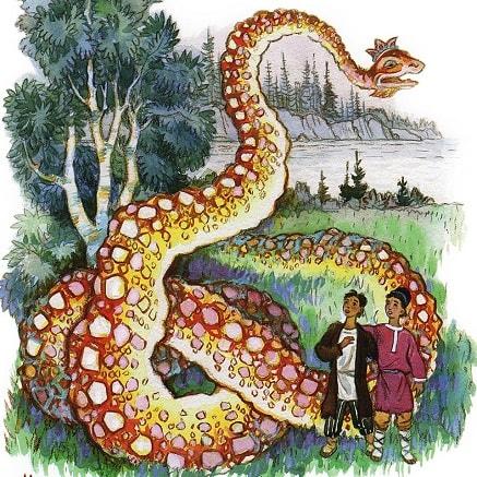 Про Великого Полоза сказка Бажов автор уральские сказы читать книгу для детей