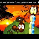 Путешествие муравья, мультфильм (1983) детская сказка Бианки