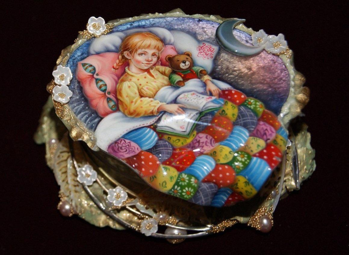 Чтение сказок перед сном