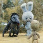 Таинственная пропажа, мультфильм (1982) кукольные сказки про зайчика Ушастика для маленьких
