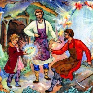 Таюткино зеркальце читаем сказку Бажова уральские сказы для детей онлайн