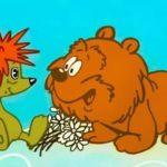 Трям! Здравствуйте! мультфильм (1980) детская сказка Сергея Козлова про ёжика и медвежонка смотреть онлайн