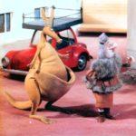 В зоопарке - ремонт! мультфильм (1987) кукольныйжители города разобрали птиц, и зверей по своим домам