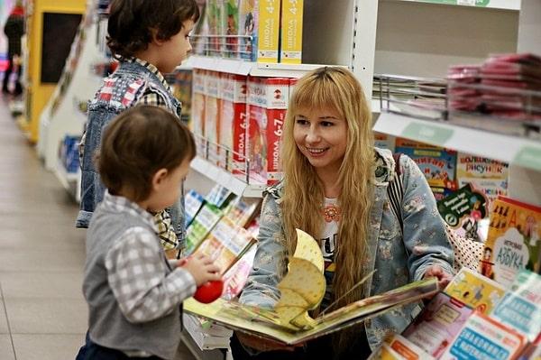 Читаем детям книги сказки