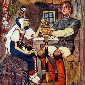 Баба Яга героиня русских сказок