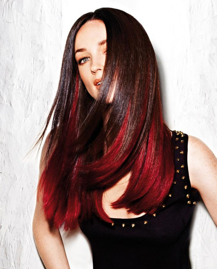 Цвет красивых женских волос