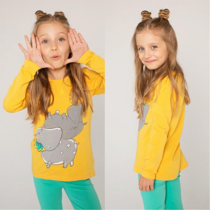 Красивая детская одежда для мальчиков и девочек с рисунками сказочных зверей