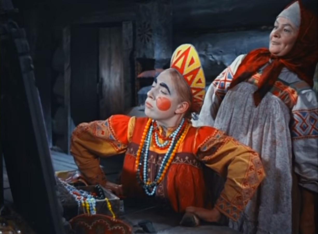 Не принцесса - королевна эпизод из сказки Морозко для детей