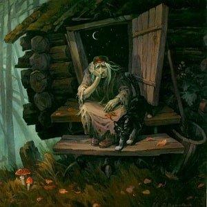 Где живёт Баба-Яга и другие герои русских народных сказок