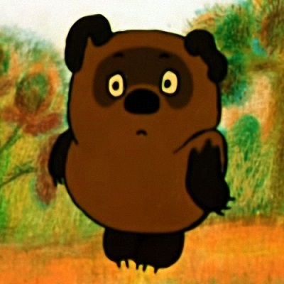 Винни-Пух популярный герой из советских мультфильмов