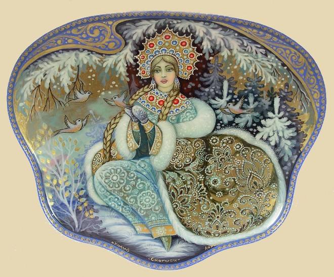 Снегурочка красавица из сказки