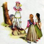 Белоснежка и Алоцветик сказка братьев Гримм с картинкой текст полностью