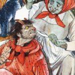 Черт с тремя золотыми волосами сказка братьев Гримм