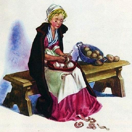 Девушка-дикарка сказка братьев Гримм немецкие писатели сказочники