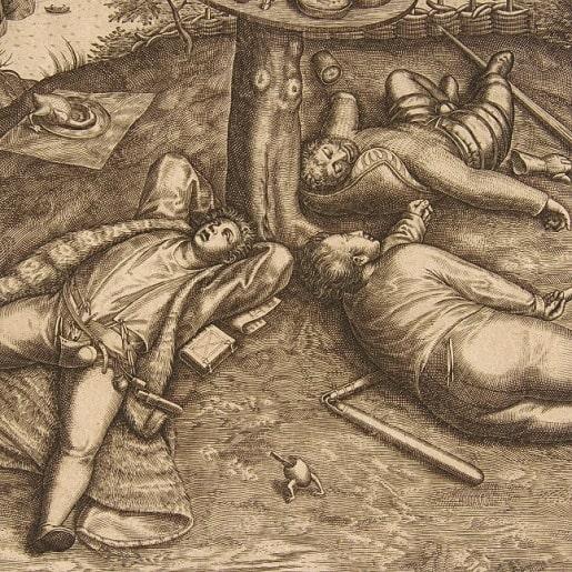 Двенадцать ленивых работников сказка братьев Гримм читать текст