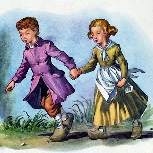 Гензель и Гретель сказка братьев Гримм про пряничную избушку из хлеба и леденцов
