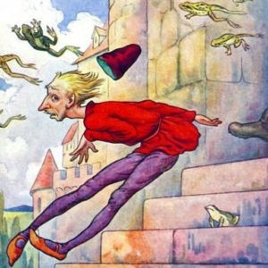 Гриф-птица братья Гримм сказка с картинкой для чтения