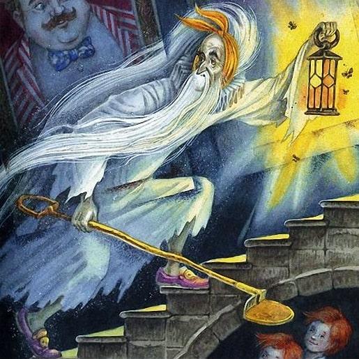 Кентервильское привидение сказка Оскара Уайльда библиотека сказок