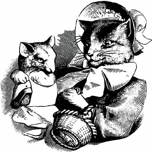 Кошка и мышка вдвоем сказка братьев Гримм