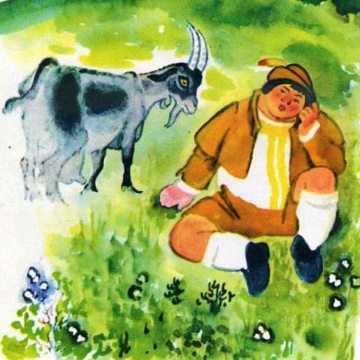 Ленивый Гейнц сказки братьев Гримм немецкие писатели сказочники книжка с картинкой