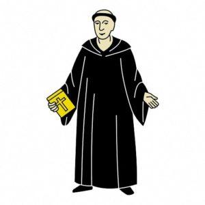 Монах в терновнике сказки от братьев Гримм