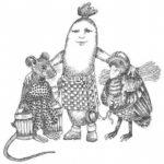 О мышке, птичке и колбаске сказка братьев Гримм читаю сам