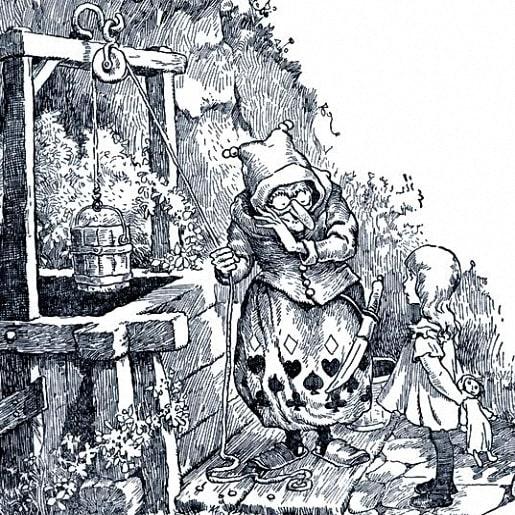 Птица-Найденыш сказка братьев Гримм