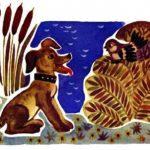 Пёс и воробей