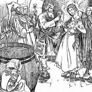 Разбойник-жених сказка братьев Гримм на русском языке