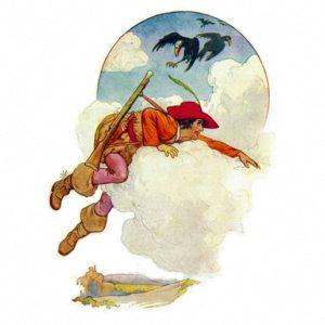 Салатный осел сказка братьев Гримм