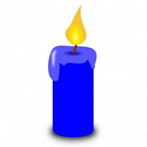 Читайте сказку Синяя свечка авторы братья Гримм