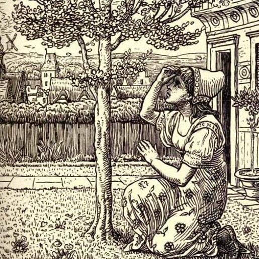 Сказка про можжевельник от братьев Гримм