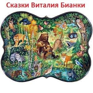 Сборник сказок о зверях и птицах в лесу автор Бианки Виталий сборник лучших произведений для чтения онлайн школьная библиотека рассказы для детей текст полностью
