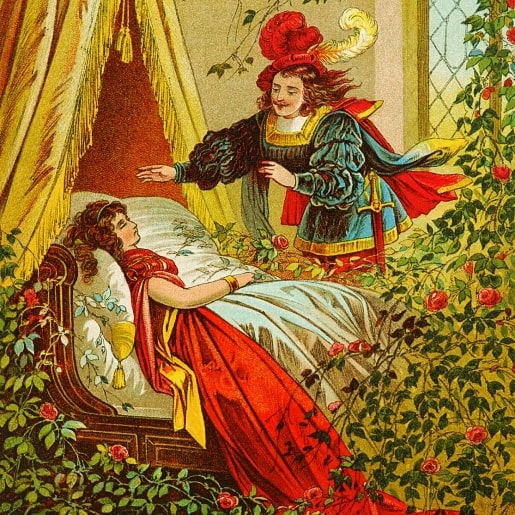 Спящая красавица от братьев Гримм сказка про любовь