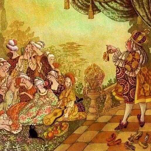Стоптанные туфельки сказка от братьев Гримм про принцесс