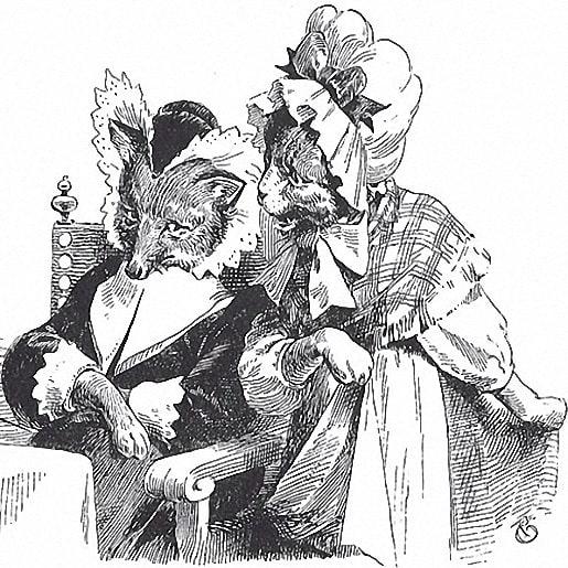Свадьба госпожи лисицы сказка братьев Гримм текст книги