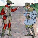 Два странника сказка братьев Гримм популярные сборник онлайн