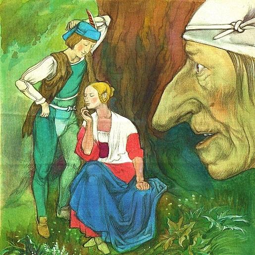 Йоринда и Йорингель сказка которую придумали братья Гримм