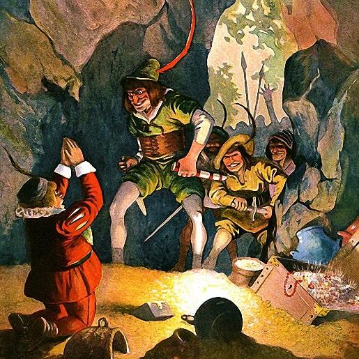 Зимели-гора сказка братьев Гримм про сокровища в горе