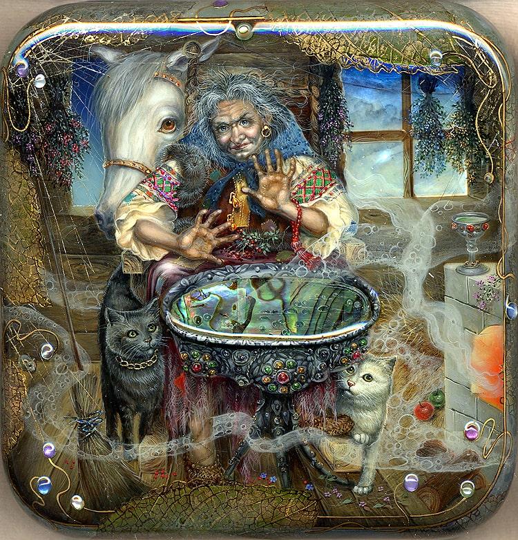 Баба-Яга в мифологии