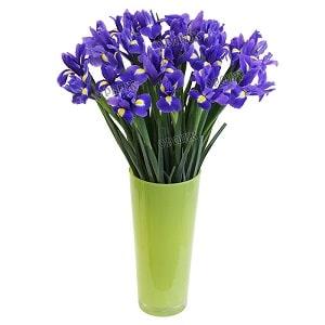 Букет из синих цветов