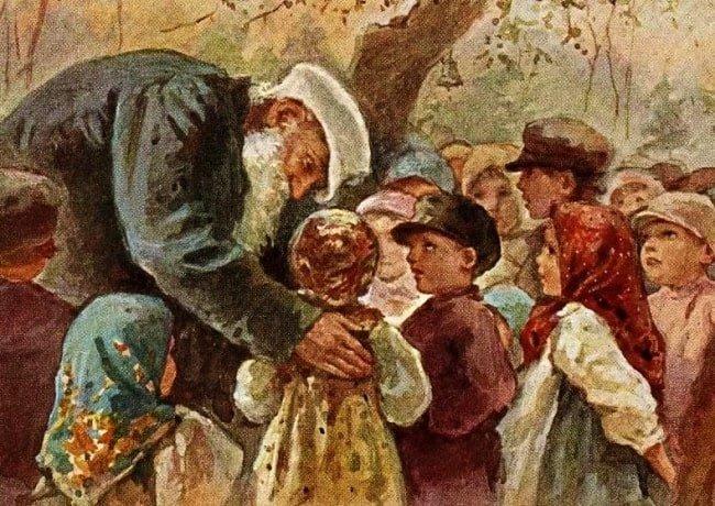 Детские рассказы Лев Толстой автор сказок и небылиц рассказчик былин русский писатель читайте текст произведения онлайн для детей крупным шрифтом книжка с картинками
