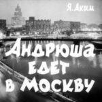 Андрюша едет в Москву, диафильм (1964)