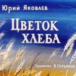 Цветок хлеба, диафильм (1971) рассказ Яковлева с рисунками и текстом